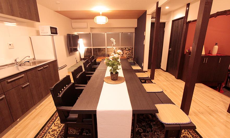写真:新宿宿泊施設